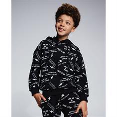 AH6 kids All over hoodie kids Zwart