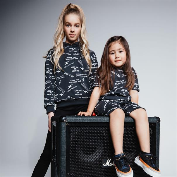 AH6 kids All overtee kids Zwart