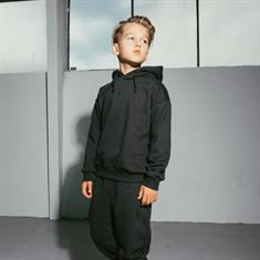 AH6 kids Fitted hoody Antraciet
