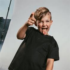 AH6 kids Fitted t-shirt Zwart