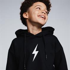 AH6 kids Rockstar hoodie kids Zwart