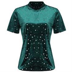 Ambika Shirt korte mouw Donkergroen