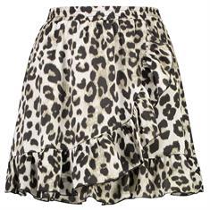 Ambika Skirt leopard grey Grijs dessin