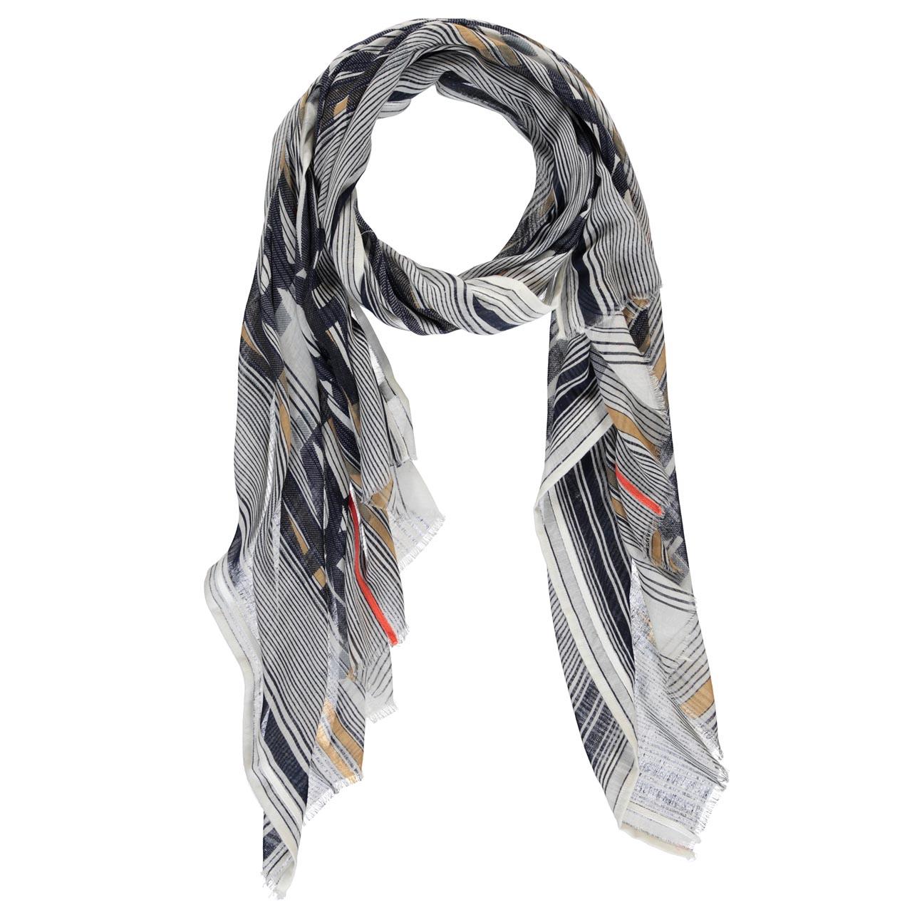 expresso sjaal blauw