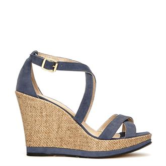 Fab footwear Biblos Wedge Blauw