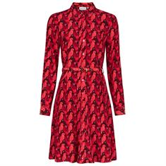 Fabienne cha Hayley dress party parrot Rood