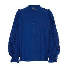 Fabienne chapot Josefin blouse Kobaltblauw