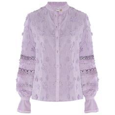 Fabienne chapot Leo blouse 8002- uni Lila