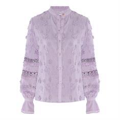 Fabienne chapot Leo blouse lilac Lila