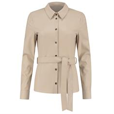 Fifth House Mace belted blouse 2533 Beige