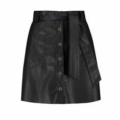 Fifth House Marley short skirt Zwart