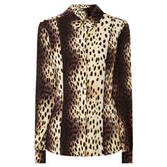 Fifth House Ricks petite blouse Bruin dessin