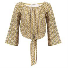 Frankie & Liberty Sima blouse Olijfgroen