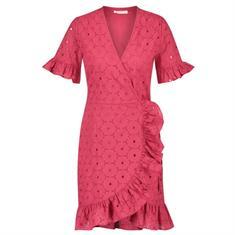 Freebird Short sleeve mini dress Roze