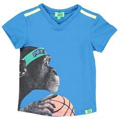Funky xs boy BP Monkey Tee Kobaltblauw