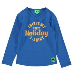 Funky xs boy Bss2 holiday tee Kobaltblauw