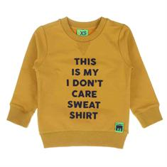 Funky xs boy Bss2 text sweat Geel