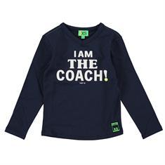 Funky xs boy FS Coach Tee Donkerblauw