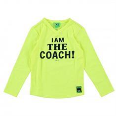 Funky xs boy FS Coach Tee Geel