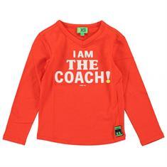 Funky xs boy FS Coach Tee Rood