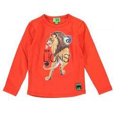 Funky xs boy FS Lion Tee Rood