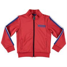 Funky xs boy Os track jacket b Rood