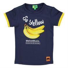 Funky xs boy Ys banana tee Donkerblauw