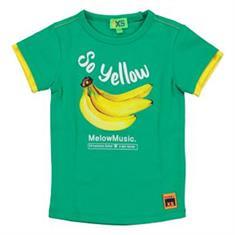 Funky xs boy YS Banana Tee Groen