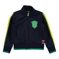 Funky xs boy Ys track jacket Donkerblauw