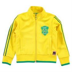 Funky xs boy Ys track jacket Geel