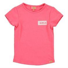 Funky xs gir Bw girls tee Roze