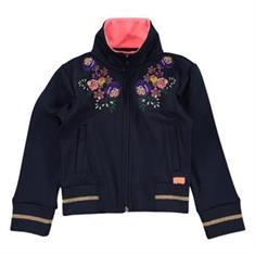 Funky xs gir Fp flower track jacket Donkerblauw