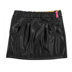 Funky xs gir Gl leather skirt Zwart