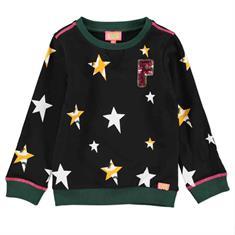 Funky xs gir Gl star sweat Zwart