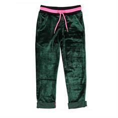 Funky xs gir Gl uni velours pants Groen