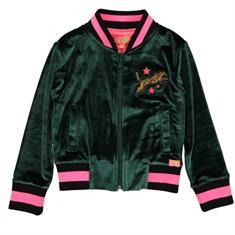 Funky xs gir Gl velours jacket Groen