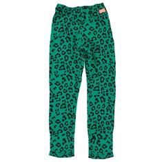 Funky xs gir SS Leopard Leggi Groen