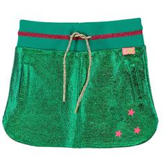 Funky xs gir SS Metallic Skirt Groen