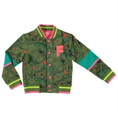 Funky xs girls Cg2 baseball jacket Groen
