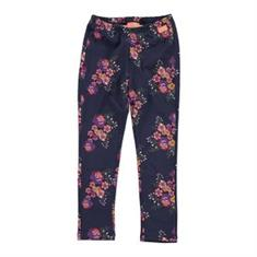Funky xs girls Fp flower legging Donkerblauw