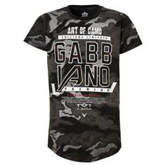 Gabbiano Shirt art of camo Zwart