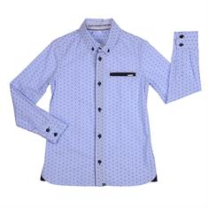 Gymp boys Ants shirt Donkerblauw