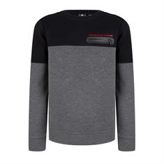 Indian bl. b Crewneck Scuba Colorbl Antraciet