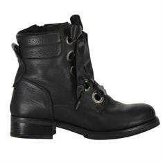 Juul & Belle Boot Satin Lace Zwart