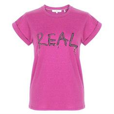 Maria Tailor Teal lurex Roze