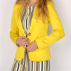 Maryley Blazer yellow Geel