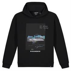 Nik & nik b Dotan hoodie Zwart