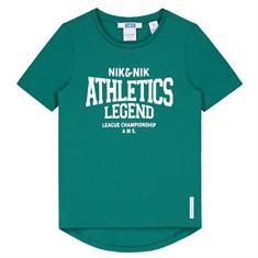 Nik & nik b Parker T-shirt Groen