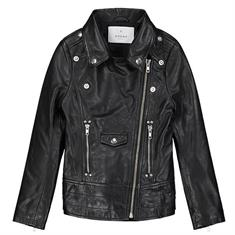Nik & nik g Esmee Leather Jacket Zwart