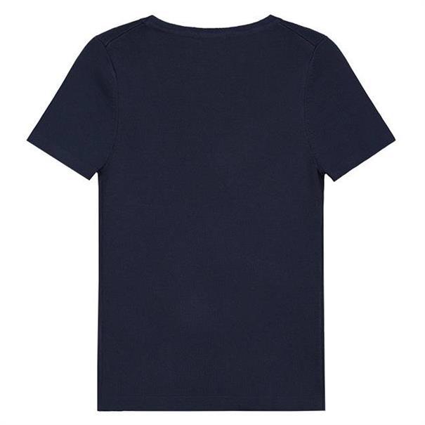 Nik & nik g Jolie Top Short Sleeve Donkerblauw